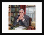 Mature Business Executive at His Desk. by Corbis
