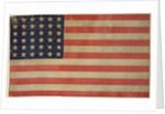 Thirty-six star American flag by Corbis