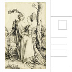 Promenade (Young Couple Threatened by Death) by Albrecht Dürer