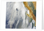 Glory pattern and cloud vortex in over Pacific Ocean by Corbis