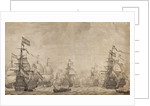The Dutch Fleet under Sail by Willem van de Velde the Elder