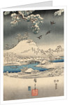 A modern version of the Tale of Genji in snow scenes by Corbis
