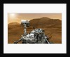 Curiosity Rover on Mars by Corbis