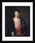 Portrait of Cardinal Ranuccio Farnese as a Boy by Titian