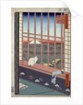 Asakusa ricefields and torinomachi festival by Ando Hiroshige