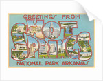 Greetings from Hot Springs National Park, Arkansas by Corbis