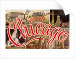 Greetings from Chicago, Illinois by Corbis