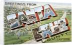 Greetings from Santa Cruz County, California by Corbis