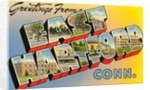Greetings from East Hartford, Connecticut by Corbis