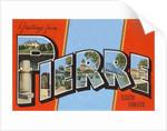 Greetings from Pierre, South Dakota by Corbis