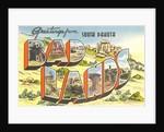 Greetings from Badlands, South Dakota by Corbis