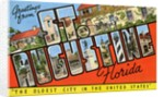 Greetings from St. Augustine, Florida by Corbis