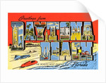 Greetings from Daytona Beach, Florida by Corbis