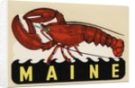 Maine travel decal by Corbis