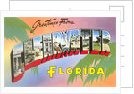 Greetings from Clearwater, Florida by Corbis
