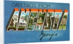 Greetings from Augusta, Georgia by Corbis