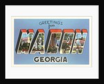 Greetings from Macon, Georgia by Corbis