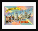 Greetings from Des Moines, Iowa by Corbis