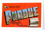 Greetings from Purdue University, Lafayette Indiana by Corbis