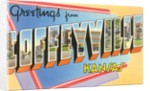 Greetings from Coffeyville, Kansas by Corbis