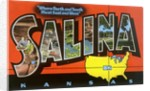 Greetings from Salina, Kansas, Where North and South Meet East and West by Corbis