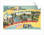 Greetings from Salisbury, Maryland by Corbis