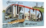 Greetings from Alpena, Michigan by Corbis