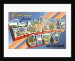 Greetings from Traverse City, Michigan by Corbis