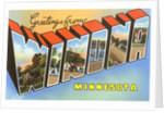 Greetings from Winona, Minnesota by Corbis