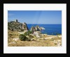 View of Tonnara di Scopello, Castellammare del Golfo, Sicily, Italy by Corbis