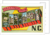 Greetings from Montreat, North Carolina by Corbis