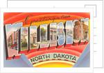 Greetings from Williston, North Dakota by Corbis