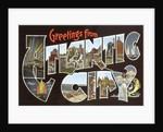 Greetings from Atlantic City, New Jersey by Corbis