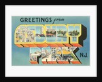 Greetings from Asbury Park, New Jersey by Corbis