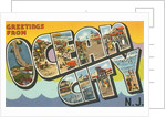 Greetings from Ocean City, New Jersey by Corbis