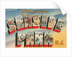 Greetings from Seaside Park, New Jersey by Corbis