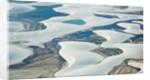 Aerial view of Lencois Maranhenses National Park, Brazil by Corbis