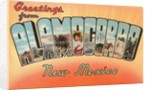 Greetings from Alamogordo, New Mexico by Corbis