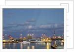 Harbor at night, Las Palmas, Gran Canaria, Spain by Corbis