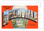Greetings from Nashville, Tennessee by Corbis