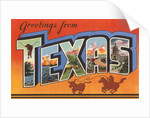 Greetings from Texas by Corbis