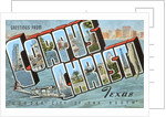 Greetings from Corpus Christi, Texas, Wonder City of the South by Corbis