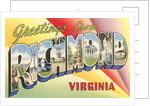 Greetings from Richmond, Virginia by Corbis