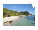 Source d'Argent Beach, La Digue, Seychelles, Indian Ocean Islands by Corbis