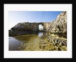 View of Azure Window stone arch, Dwejra, Gozo, Malta by Corbis