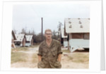 Snapshot of US Army soldier on base in Vietnam, ca. 1970 by Corbis