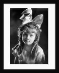 Young girl portrait, ca. 1908 by Corbis