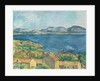 The Bay of Marseilles, Seen from L'Estaque by Paul Cezanne