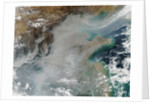 Smog and Haze over Eastern China by Corbis