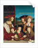 Emperor Maximilian I with His Family by Bernhard Strigel